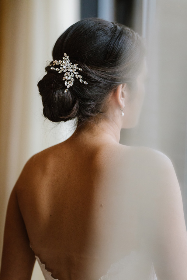 Wedding Hairstyle - Urban Row Photography