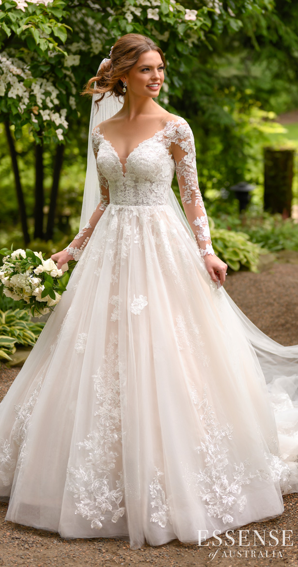 Essense of Australia Wedding Dresses Spring 2020 - D2939