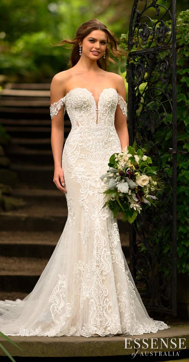 Essense of Australia Wedding Dresses Spring 2020 - D2988