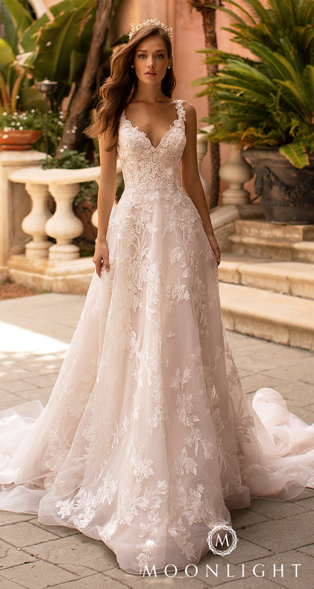Moonlight Couture Wedding Dresses 2020 - H1422