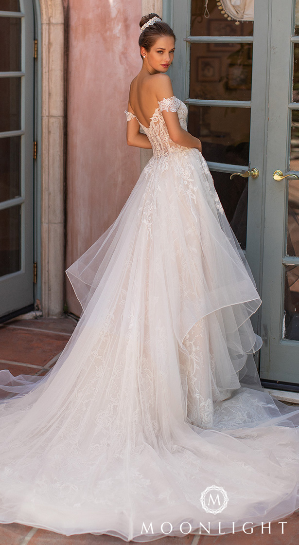 Moonlight Couture Wedding Dresses 2020 - H1428