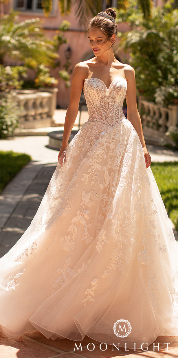 Moonlight Couture Wedding Dresses 2020 - H1429