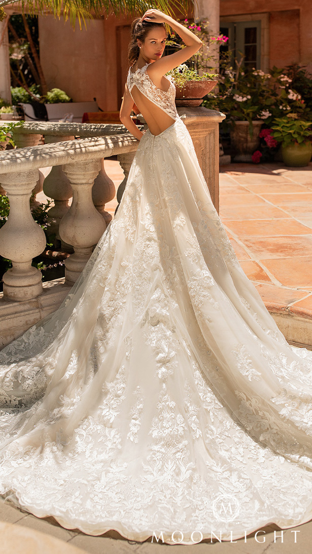 Moonlight Couture Wedding Dresses 2020 - H1432