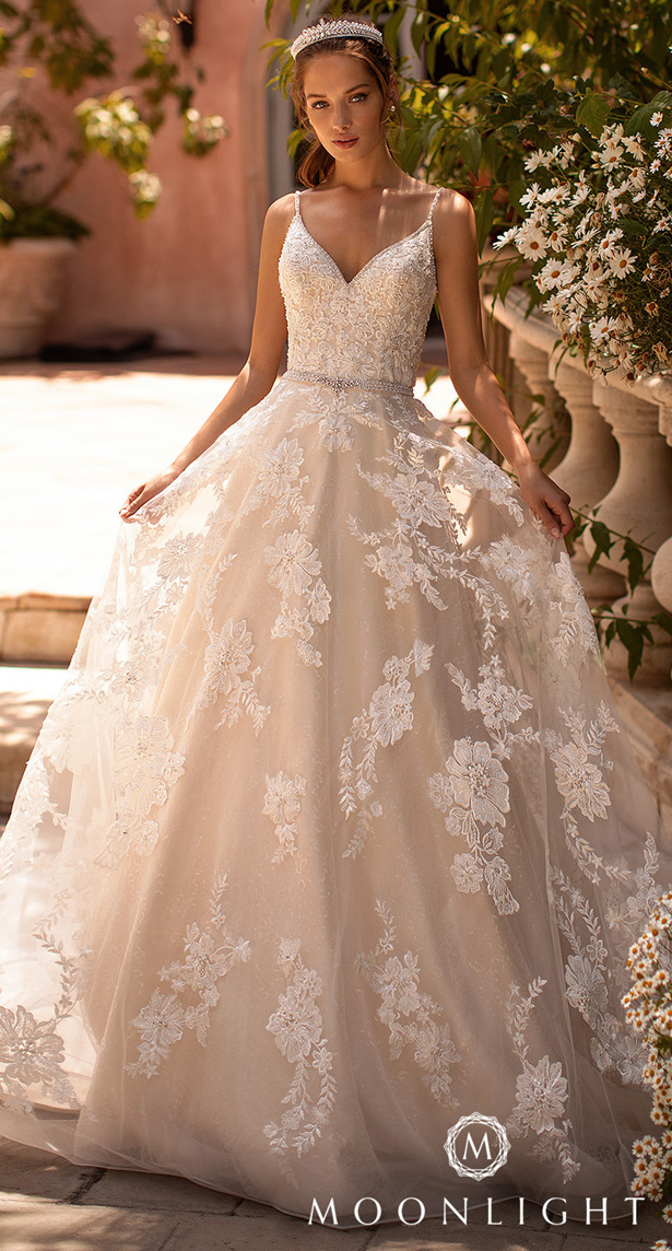 Moonlight Couture Wedding Dresses 2020 - H1433