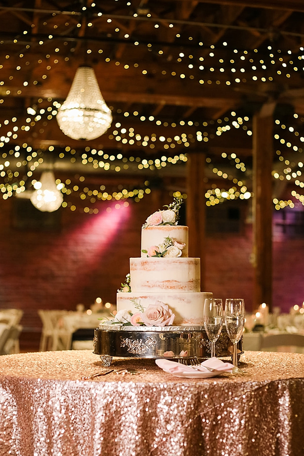 Wedding cake table - Soul Creations Photography