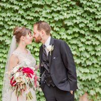 Romantic wedding photo -Photo by Stephanie Kase Photography