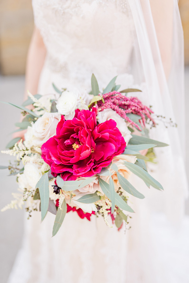 Wedding Bouquet -Photo by Stephanie Kase Photography