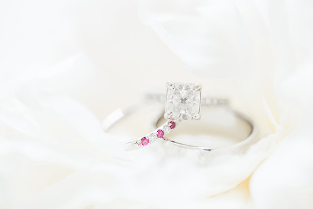 Wedding Rings -Photo by Stephanie Kase Photography