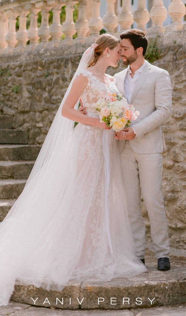 Yaniv Persy Wedding Dress - Photo: Claire Macintyre