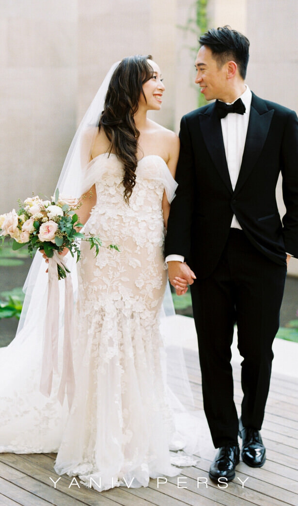 Yaniv Persy Wedding Dress - Photo: Jada Poon