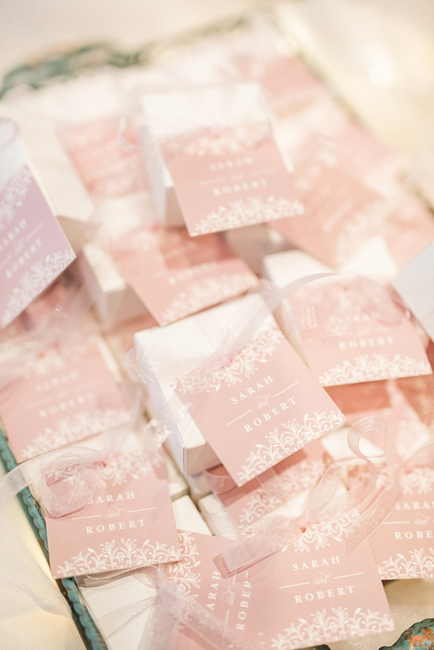 Wedding Favors -Photo by Stephanie Kase Photography