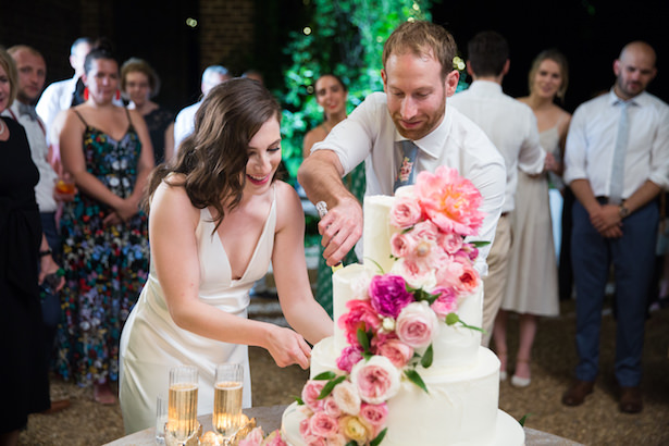 A Garden Wedding Filled With Pops Of Color - Photography: 6 of Four