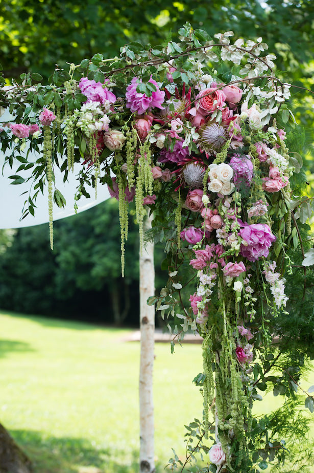 Floral wedding arch - Photography: 6 of Four