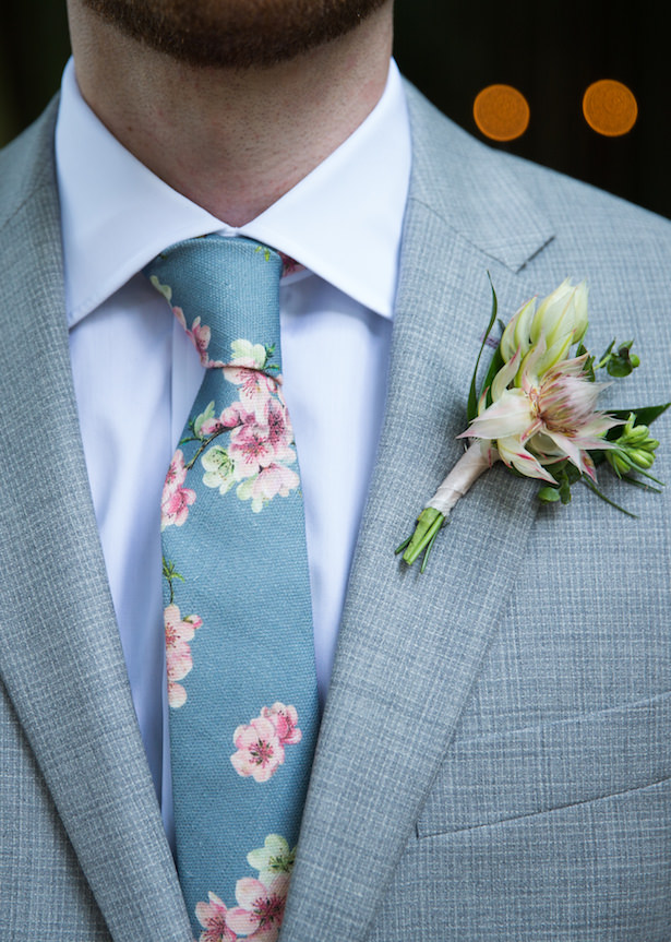Grey wedding suit for groom - Photography: 6 of Four