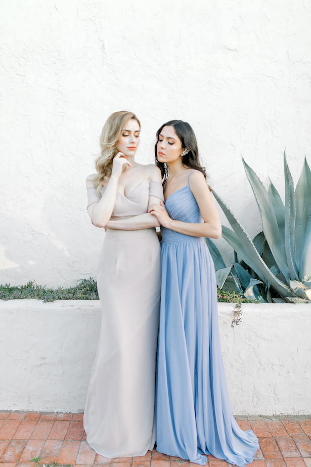 Long Bridesmaid Dresses by Allure Bridals- Sparrow and Gold Photography