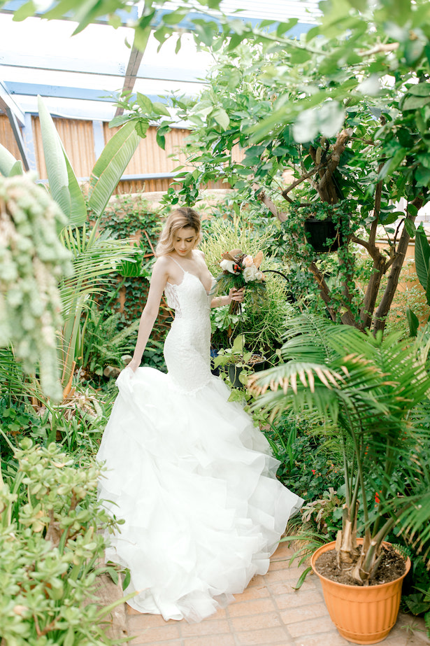 Mermaid wedding dress by Allure Bridals - Sparrow and Gold Photography
