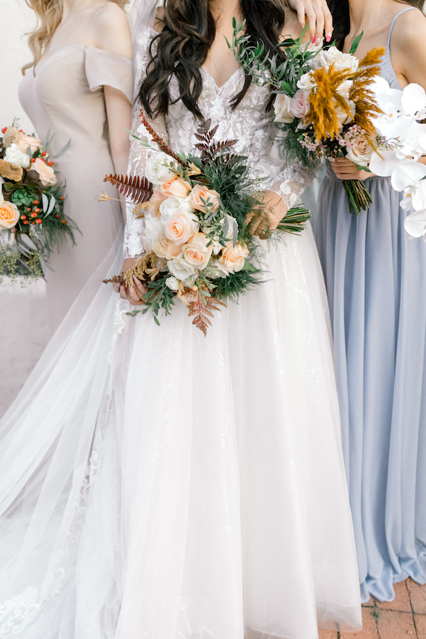 Southwest Romance Wedding bouquets - Allure Bridals - Sparrow and Gold Photography