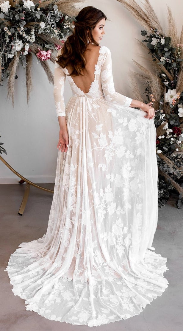 Vintage Bohemian Wedding Dress - Wear Your Love XO