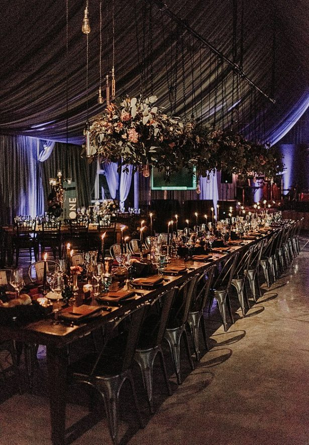 Boho Glamorous Wedding family style reception seated dinner decor - Nikk Nguyen Photo