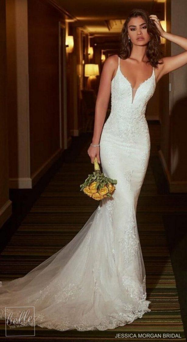 Dream Mermaid Wedding Dress by Jessica Morgan