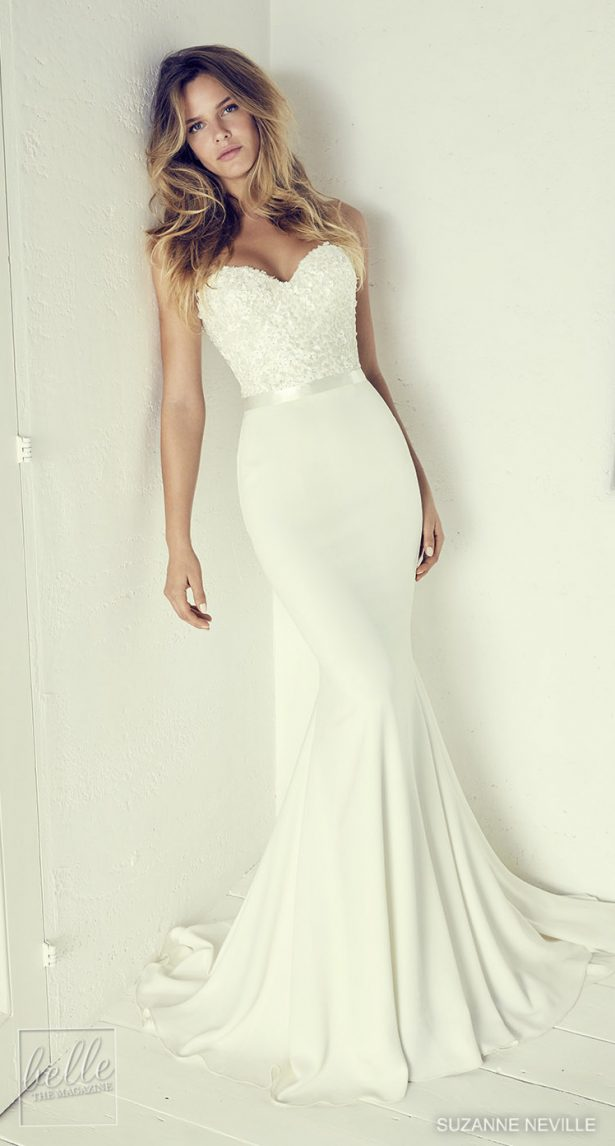 Dream Mermaid Wedding Dress by Suzanne Neville