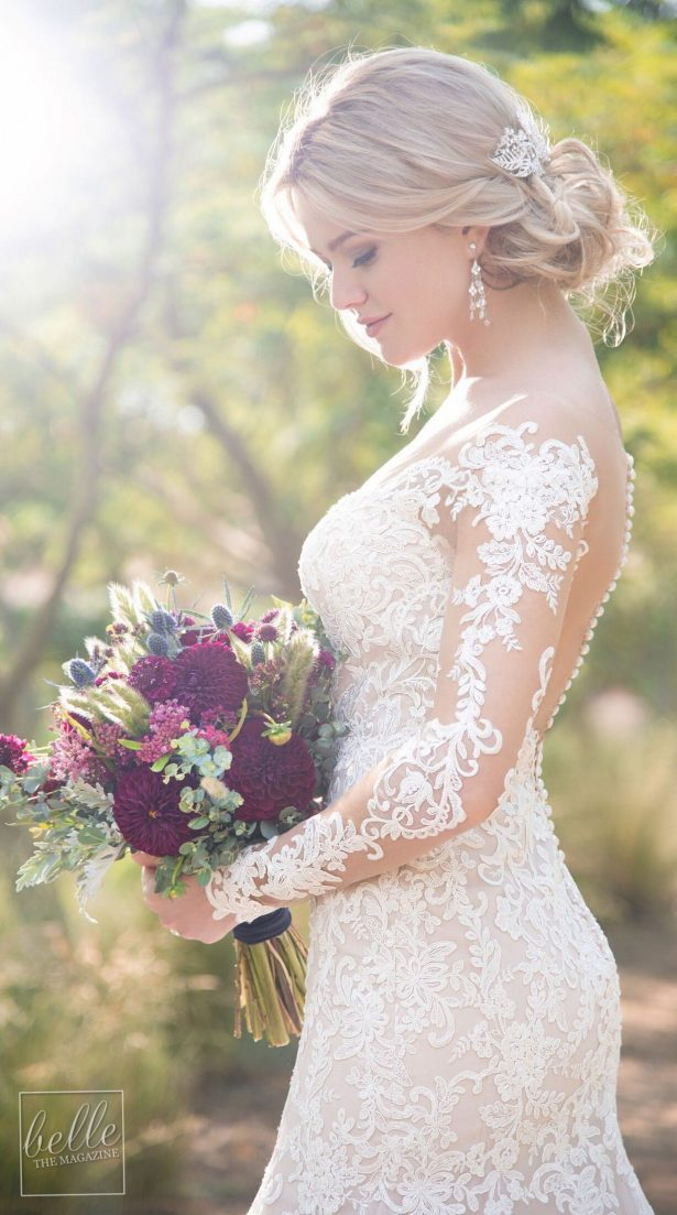 Lace Wedding Dress by Essense of Australia