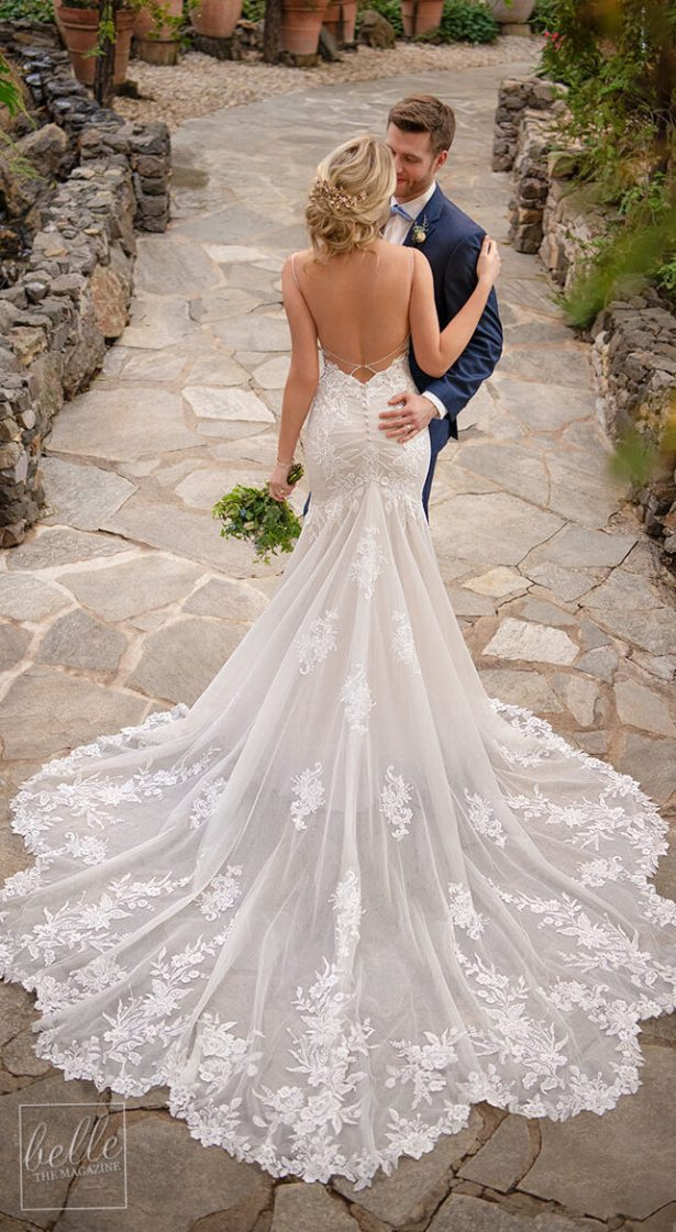 Mermaid Wedding Dress by Essense of Australia