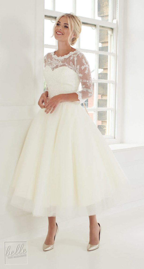 Vintage wedding dress by House of Mooshki