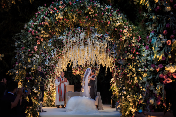 Opulent Luxury Wedding Ceremony Decorations - Photography: Vincent Zasil