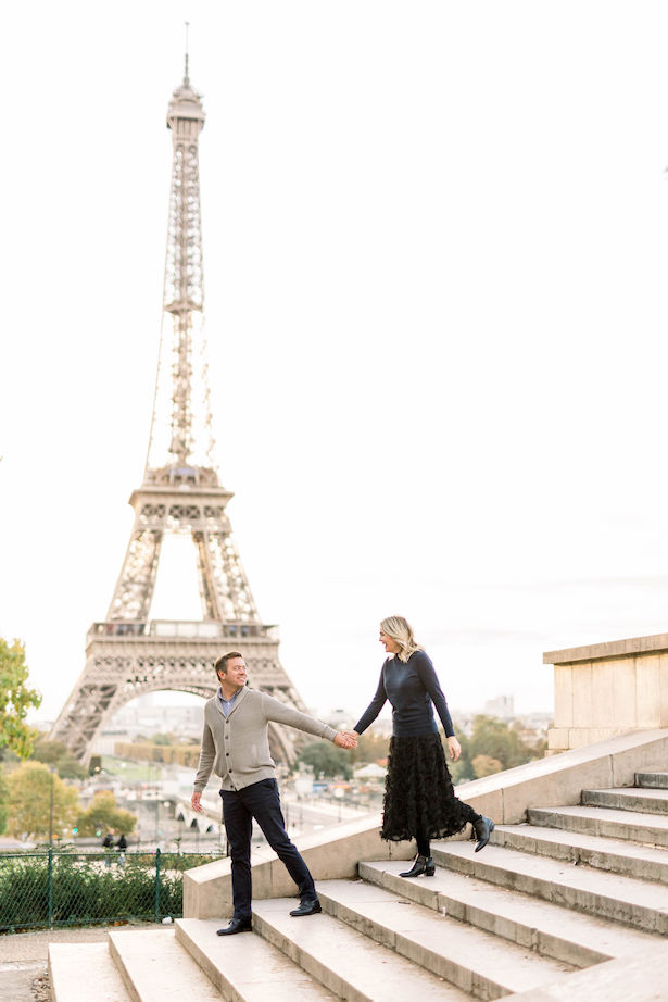 Eiffel Tower Honeymoon - Danielle Harris Photography