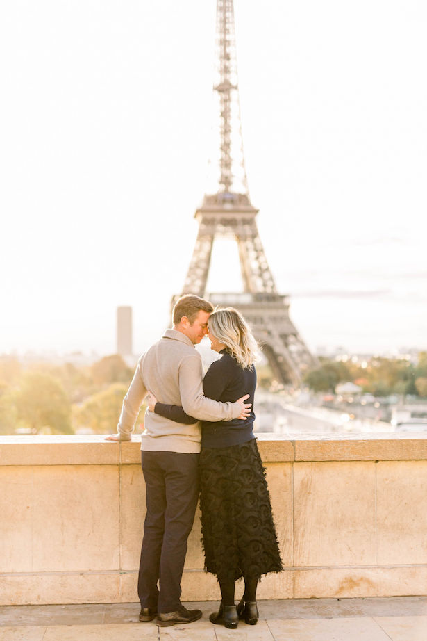 Paris Engagement Session - Danielle Harris Photography