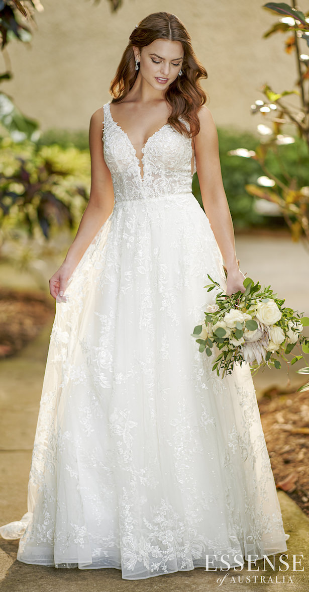 Essense of Australia Wedding Dresses - Style D3127