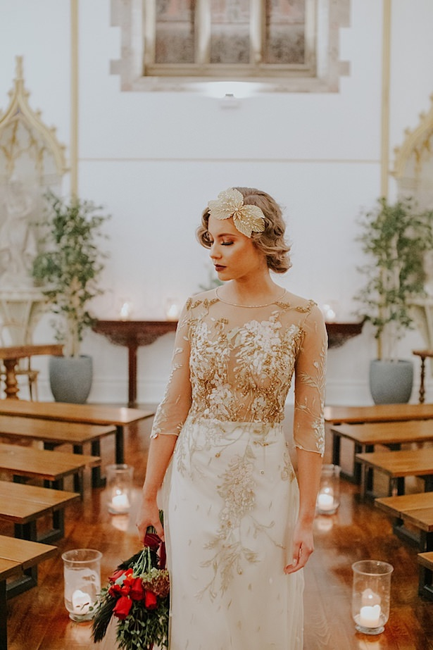 Vintage wedding dress - Jamie Sia Photography