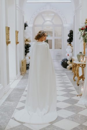 Wedding cape - Jamie Sia Photography