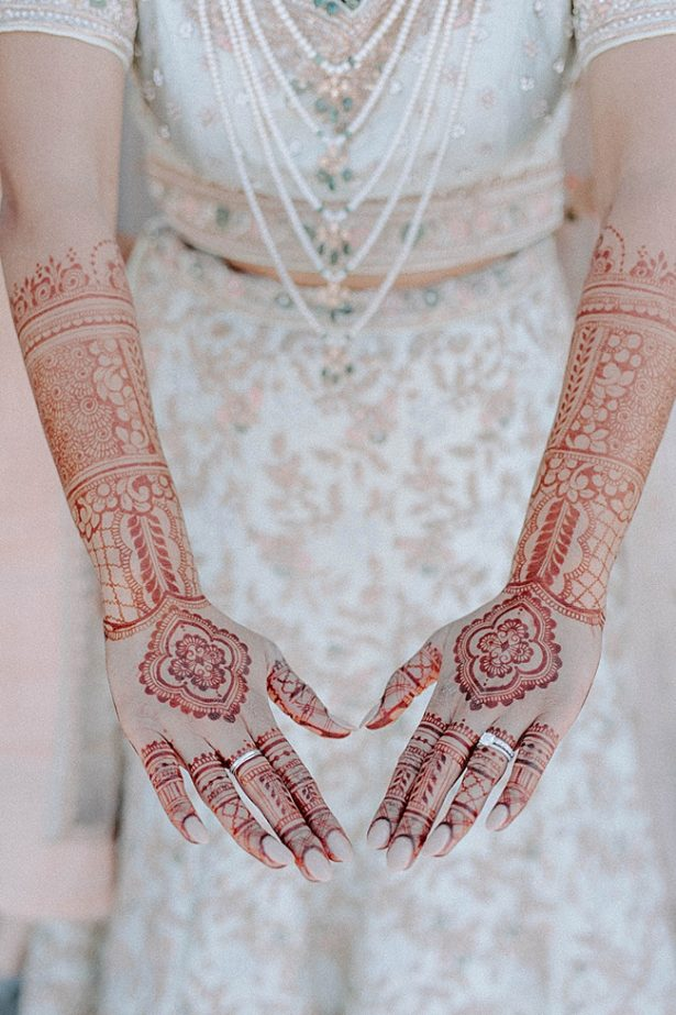 Wedding henna for the bride Modern South Asian Wedding- Foolishly Rushing In Photography