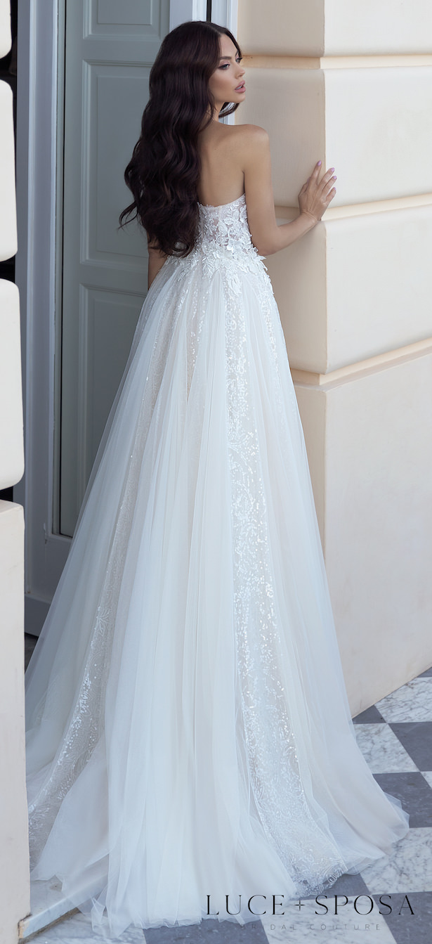 Luce Sposa 2021 Wedding Dresses | Sorrento, Italy Campaign - DOLORES