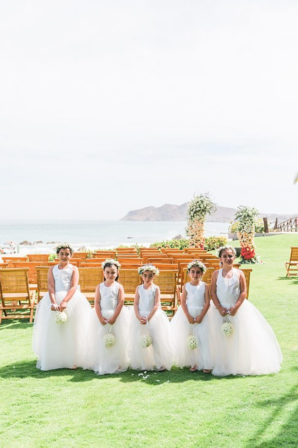 Sweet matching flower girls with flower crowns - Photography: JBJ Pictures