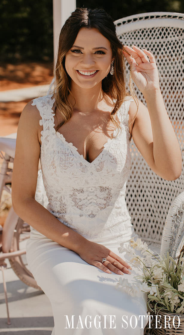 Affordable Wedding Dresses - Rebecca Ingram-Amy-Tori Meadows Photo