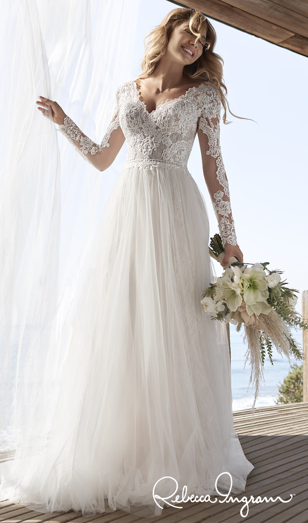 Affordable Wedding Dresses - Rebecca Ingram Iris