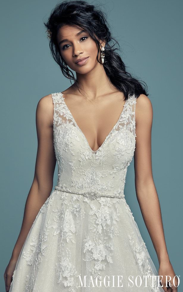 Affordable Wedding Dresses - Maggie Sottero Meryl Lane Lynette
