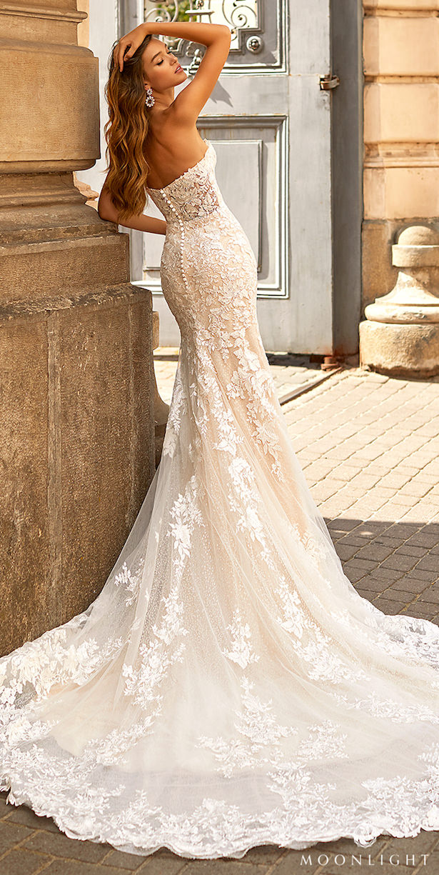 Moonlight Couture Spring 2021 Wedding Dress -H1461