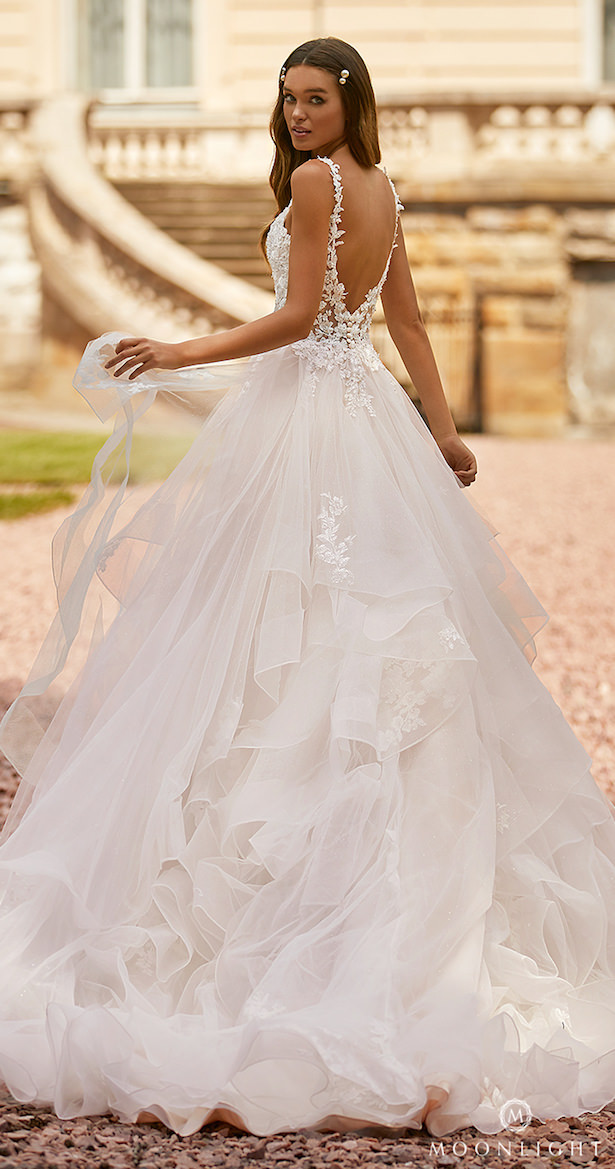 Moonlight Couture Spring 2021 Wedding Dress -H1465