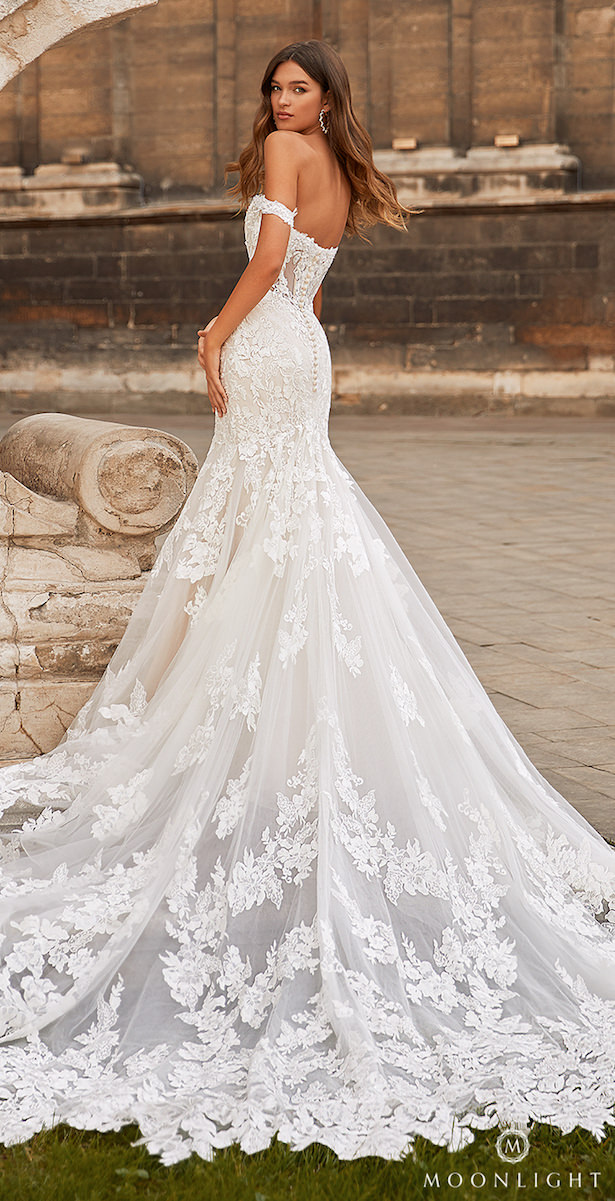 Moonlight Couture Spring 2021 Wedding Dress -H1466