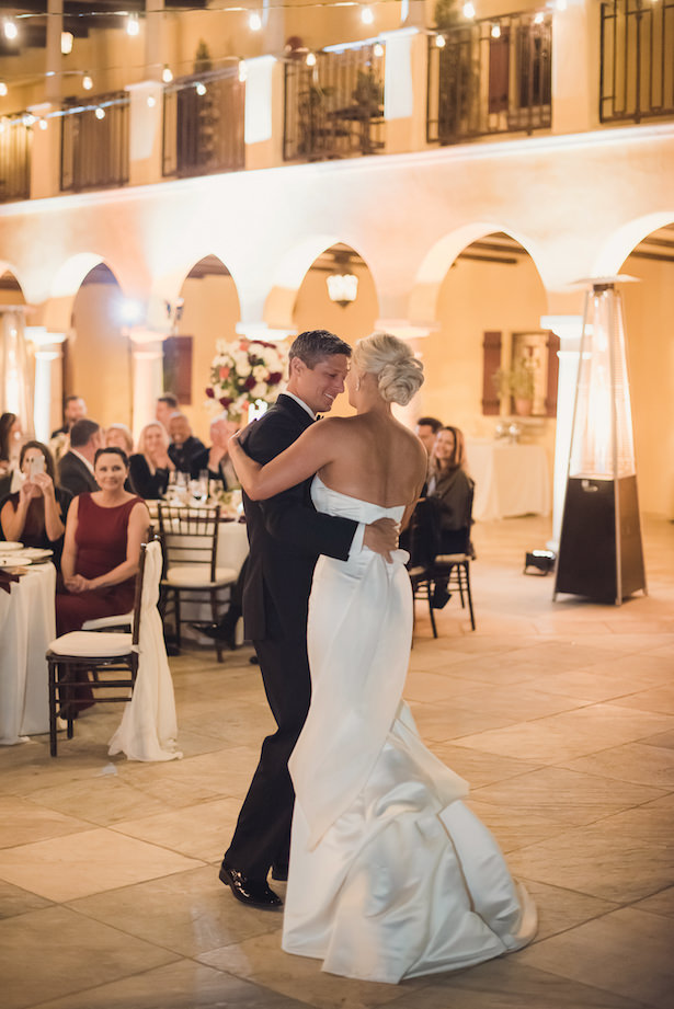 First dance romantic wedding photo - Sun and Sparrow Photography
