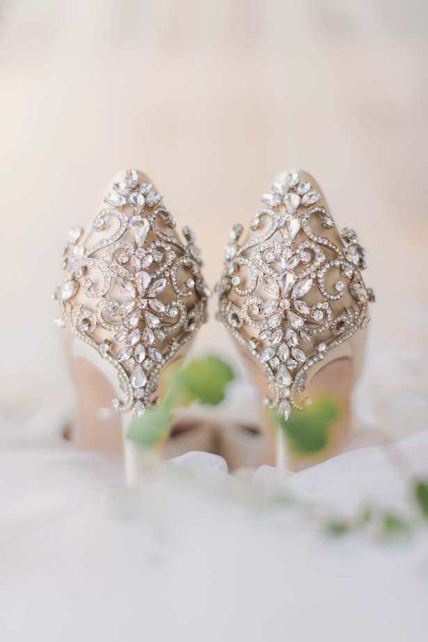 Luxury wedding shoes - Sun and Sparrow Photography