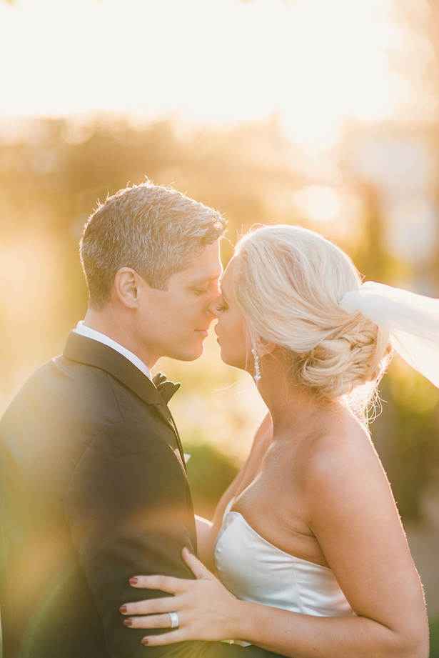 Romantic wedding photo - Sun and Sparrow Photography