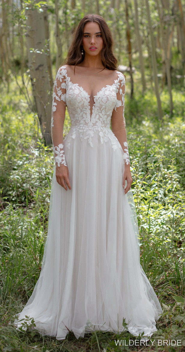 Wilderly Bride Wedding Dress Collection Spring 2021 - Style F227: Lila