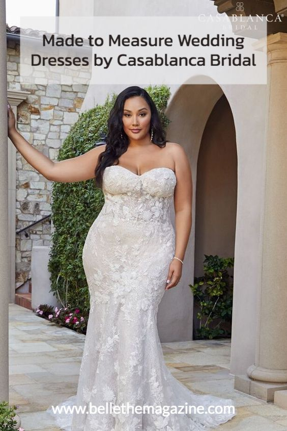 Made To Measure Dreamy Wedding Dresses By Casablanca Bridal