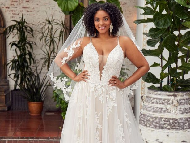 Casablanca Bridal Plus Size Weddding Dresses Spring 2020 - cover