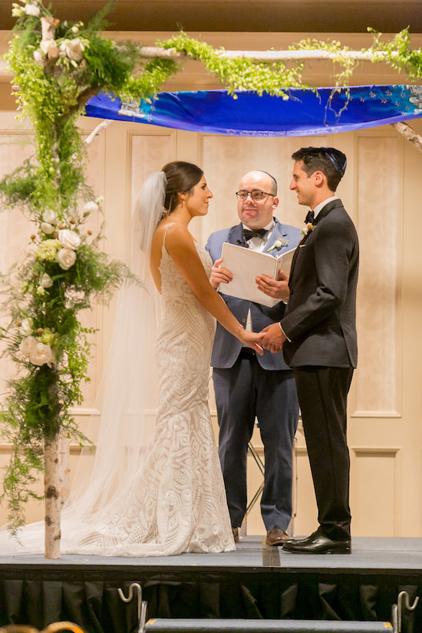 Jewish indoor wedding ceremony chuppa - ARTE DE VIE Photography